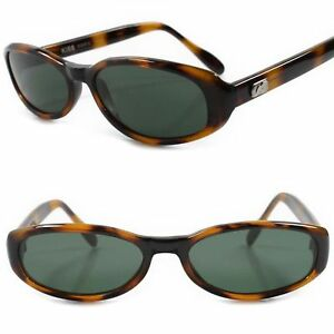 c2555e90633 Classic Genuine Vintage Fashioned Green Lens Brown   Black Rectangle ...