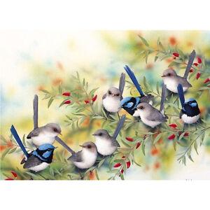 5D-DIY-Full-Drill-Diamond-Painting-Birds-Embroidery-Mosaic-Kit-Home-Decor