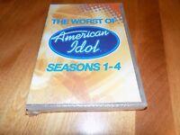 The Worst Of American Idol Seasons 1-4 Tv Classic Performance Series Dvd