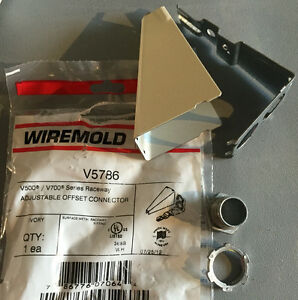 NEW* Wiremold Legrand V5786 500/700 series Adjustable Offset ...