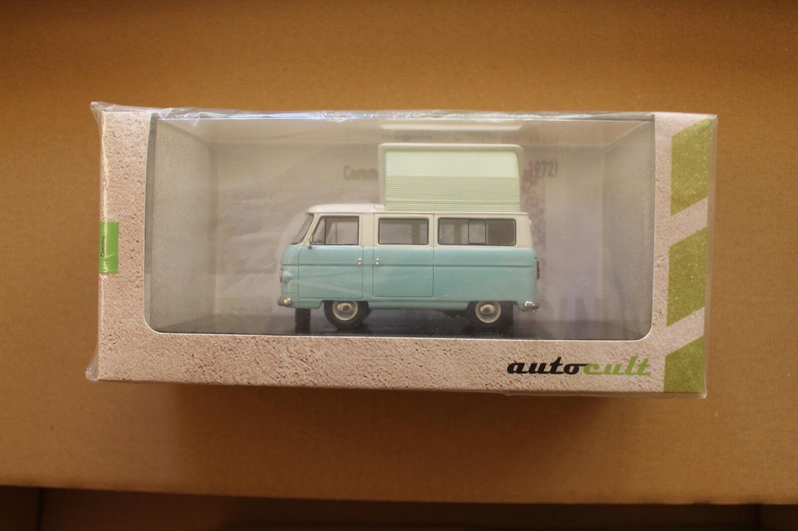 Autocult 1 43  09002 Martin Walter - Commer Dormobile Coaster von 1960