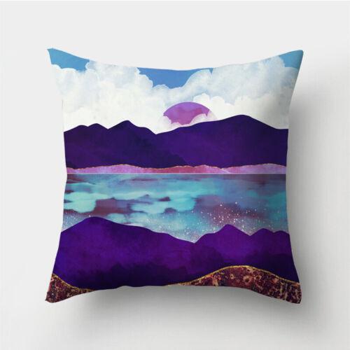 Case Sofa Decor Home Waist Polyester Cushion Pillow Throw Cover 18/'/'