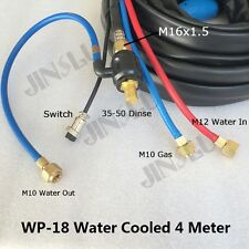 Water Cooled Tig 18 Wp 18 Wp 18 Series 4m Dinse Tig Welding Torch Complete