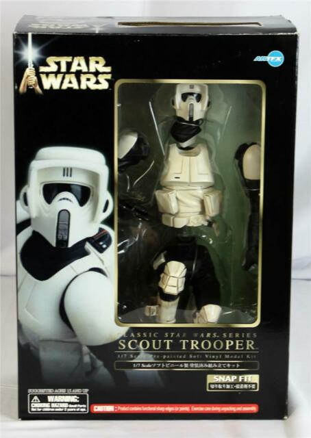 Kotobukiya ArtFX Star Wars 'Scout Trooper' 1/7th Scale Vinyl Model Kit OPEN NR