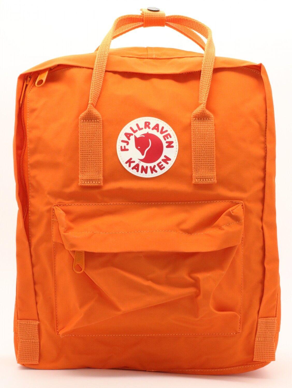 Fjällräven Kanken Rucksack 16 Liter Daypack Daypack Daypack mit Sitzkissen - Burnt Orange c84304