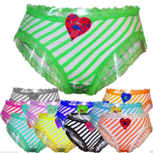 6 Stück Damen Unterhosen Slips pants Pantys Unterwäsche 34 36 38 40 Baumwolle