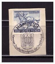 GERMANY, REICH, Scott B204, SPECIAL CANCELLATION, 73rd HAMBURG DERBY , 1942.