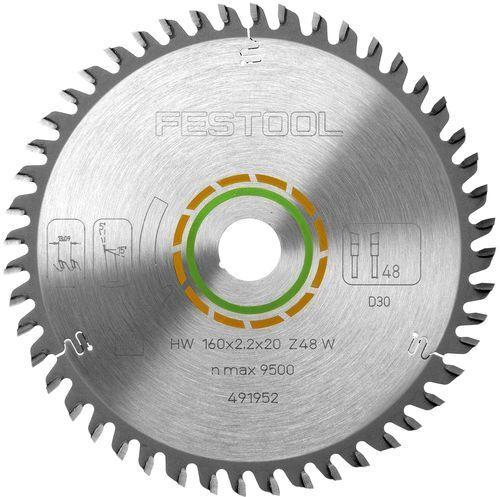FESTOOL Feinzahn-Sägeblatt 190x2,8x30 W48 für AT 65 AP 65 Nr. 486297 Protool CSP