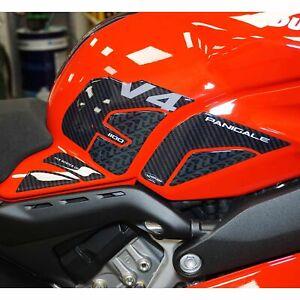 Adesivi 3D Serbatoio Laterali compatibili con Ducati Panigale V4 2018-2021
