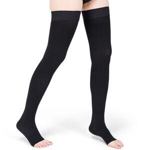 Compression Knee High Stockings 30-40mmhg Leg Socks Relief Pain Support Sock UK