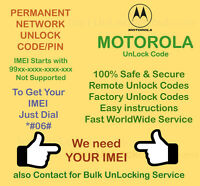 Motorola Parmanent Network Unlock Code For Motorola V3 Black - Tesco Uk
