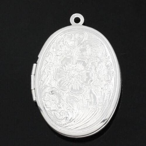 Marco De Foto Medallón Colgantes plata plateado M1410