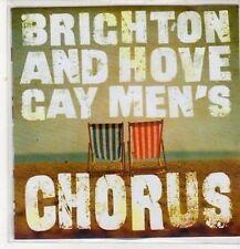 (DC284) Brighton & Hove Gay Men's Chorus, sampler - 2011 DJ CD