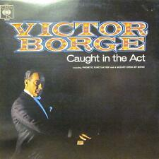 Victor Borge(Vinyl LP)Caught In The Act-CBS-62666-UK-VG+/Ex