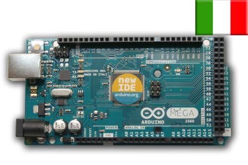 Scheda Arduino Mega R3 Originale con micro ATMEGA2560 Rivenditore Ufficiale