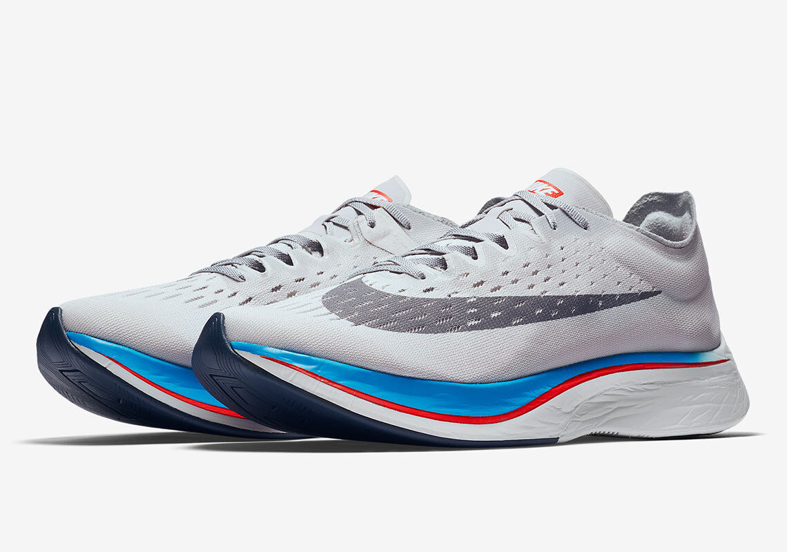 Nike Zoom Vaporfly 4% Vast Grey 880847-004 Sizes 6-11 Authentic New