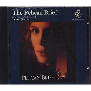 JAMES-HORNER-The-Pelican-brief-Il-rapporto-Pelican-CD-OST-1993-NEW-NOT-SEALED
