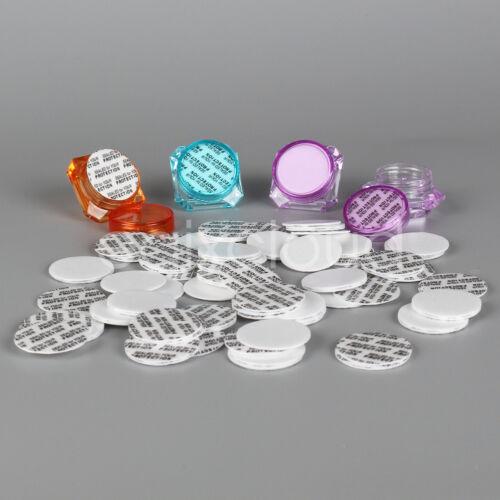 Lot 26 mm Pressure Sensitive PS Foam Cap Liners Sealed Protection for 3g 5g Jars