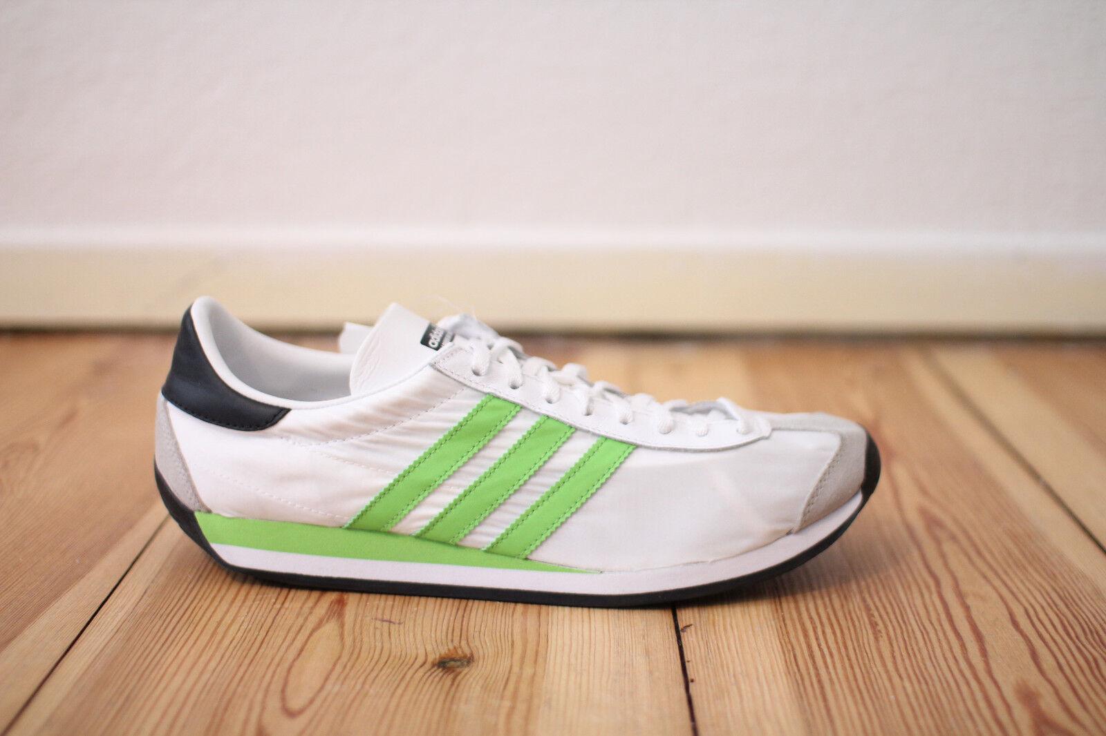 Adidas Country 42,43,44,45,46,47 OG Weiß Grün Gr. 42,43,44,45,46,47 Country NEU & OVP b30584
