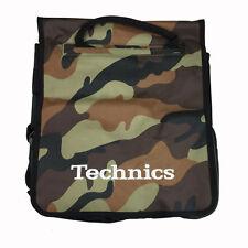 Technics Dj Record Bag Ruck Sack 50 vinyl LP Camouflage Brown  SL 1200 SL 1210