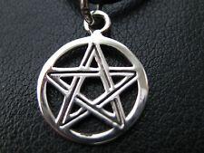 Pentagramm 925'er Silber Anhänger klein fein Gothic / KA 218
