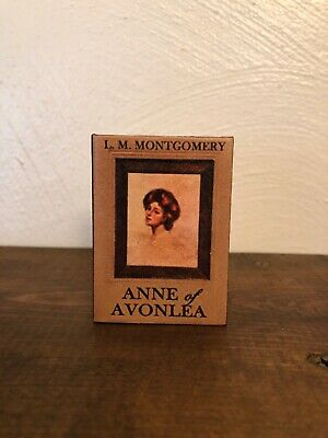 Miniature Classic Books Anne of Green Gables Trilogy for American Girl Samantha
