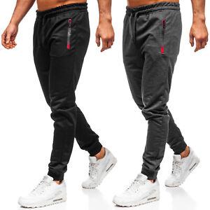 Jogger-Hose-Trainingshose-Sporthose-Fitness-Classic-Herren-Mix-BOLF-6F6-Sport