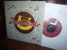 """Desperado 5, Red Hot Rock & Roll. Rockabily, German candelabro 1/95 Single, 7"""""""