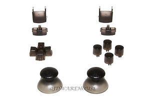 Smoke-PS3-Controller-Thumbstick-DPad-L1-R1-L2-R2-Triggers-Buttons-Complete-Set