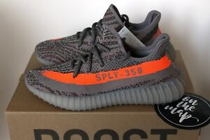 d08586a575375 Adidas Yeezy Boost 350 V2 Beluga 1.0 OG Grey Orange BB1826 5 6 ...