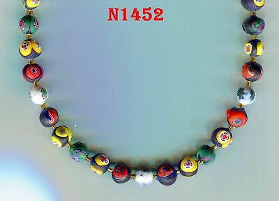 Blue /& Ivory Glass Bracelet Making Kit Bead Mix Venice