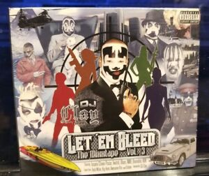 DJ-Clay-Let-039-Em-Bleed-vol-3-CD-SEALED-insane-clown-posse-twiztid-tech-n9ne