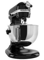 Kitchenaid Kg25h0xob Pro Hd 475-watts All Metal 5-quart Stand Mixer Onyx Black