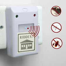 Ultrasonic High Quality Riddex Plus Electronic Pest Rodent White Repeller 220V
