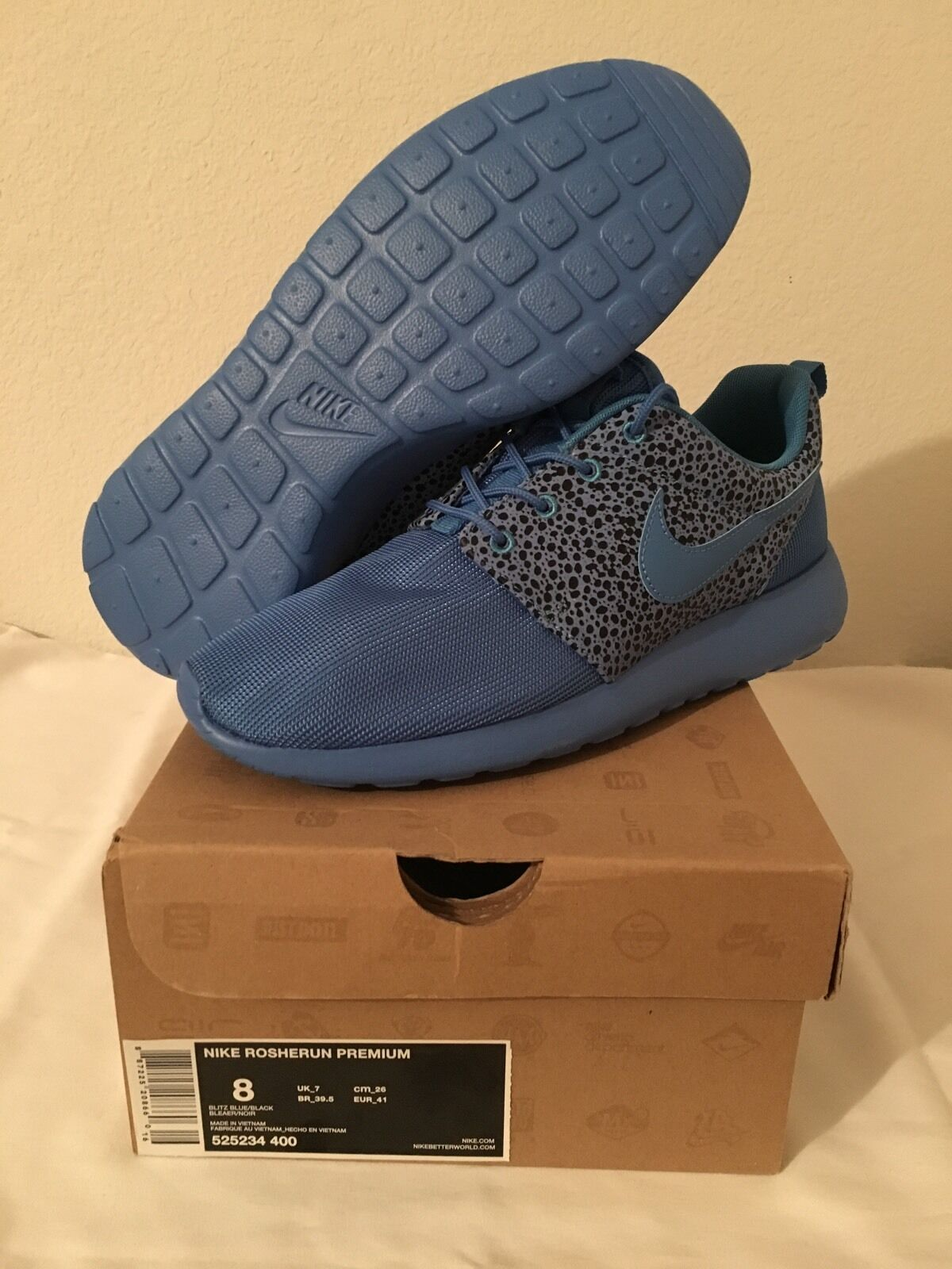 Men's Nike Roshe Run Premium Safari Size 8 (525234 400)