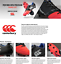 thumbnail 2 - Canterbury Phoenix Elite 8 Stud  Mens Rugby Boots *Cheap* Brand New Size US 9
