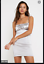 MOTEL-ROCKS-Silver-Kulani-Dress-with-Diamante-Straps-MR114 thumbnail 1