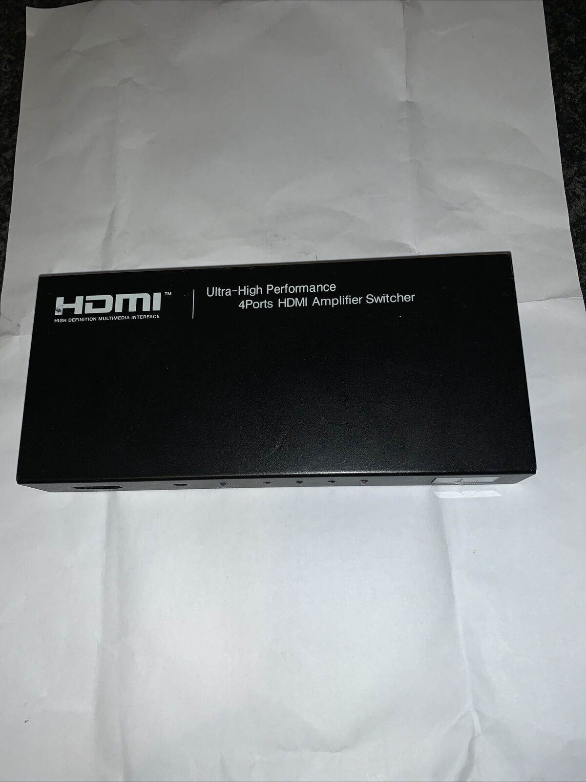 HDMI 4ports Amplifer Switcher