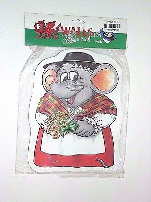 Abito Tradizionale Gallese Tappetino Mouse Mouse Pad Nuovo Di Zecca- Sconto Del 50