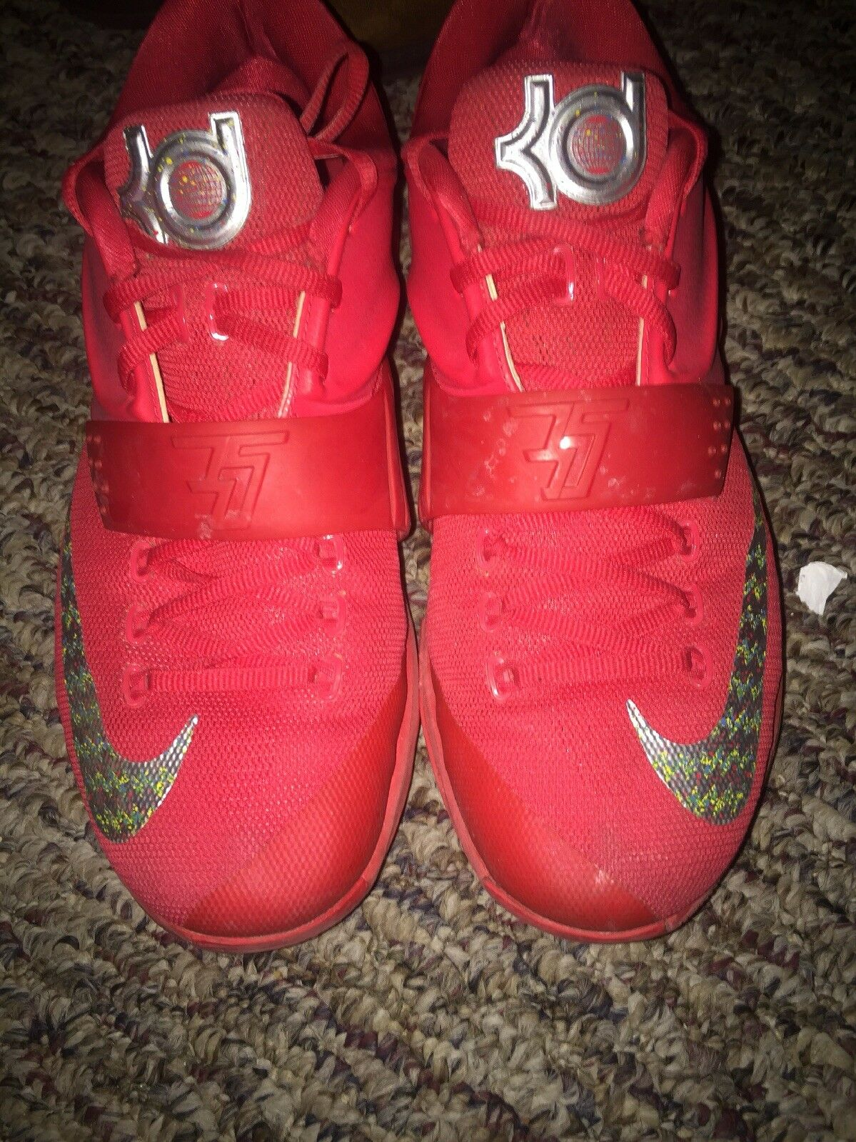 Nike KD VII SIZE 7 GLOBAL GAME RED SIZE VII 11 1a0ffb
