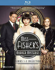 NEW - Miss Fisher's Murder Mysteries Series 1-3 Collection [Blu-ray]