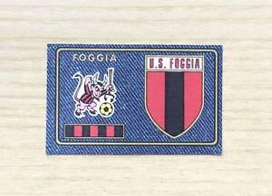 FIGURINE-PANINI-CALCIATORI-1978-79-N-352-SCUDETTO-BADGE-FOGGIA-RARISSIMO