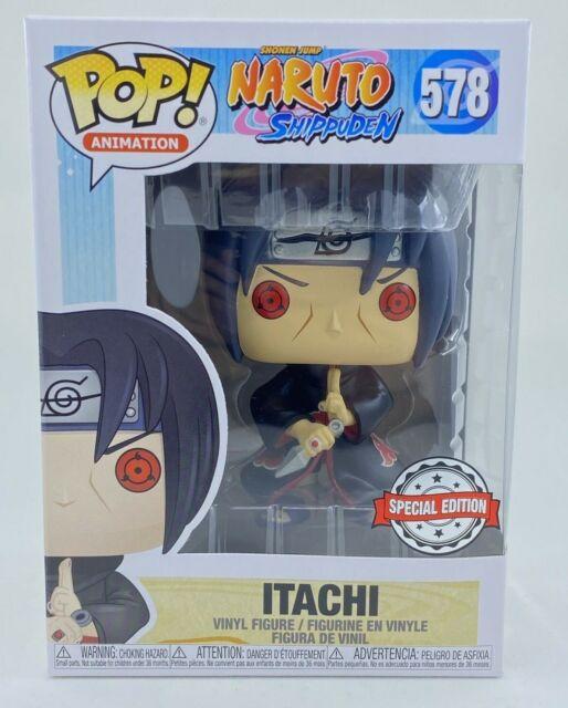 Funko Pop Itachi w/Kunai Naruto Shippuden AE Exclusive *FREE PROTECTOR* FREE SHI