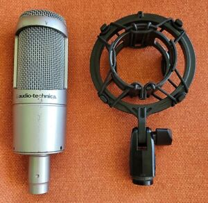 Audio Technica AT3035 Condenser Microphone With Shock Mount