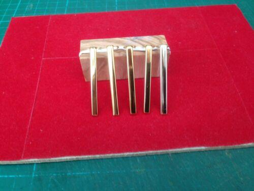 1 Pack of 5 Slimline Pen Standard Clips in Gold
