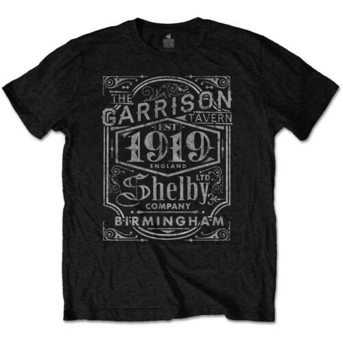 Official Peaky Blinders Tommy Shelby Brothers Garrison Pub Mens T-shirt