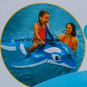 Reittier - Kleiner Wal, Lil- Whale Ride-On, Schwimmartikel