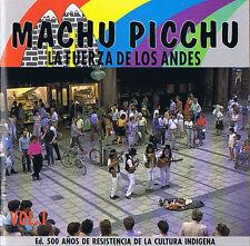 Machu Picchu - La Fuerza Del Los Andes Vol. 1 CD ( 14 Track ) Condor
