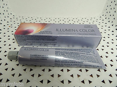 Wella ILLUMINA PERMANENT Creme Haircolor  (PPL bx) !