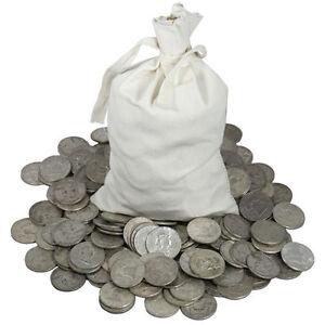 Junk Silver Bullion Coins ALL 90/% Silver Pre 1965 1//4 Pound Lb BAG Mixed U.S
